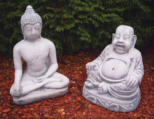 Boeddha Beeld Beton.Tag Betonnen Boeddha